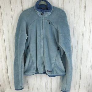 Patagonia Blue Fleece Jacket L